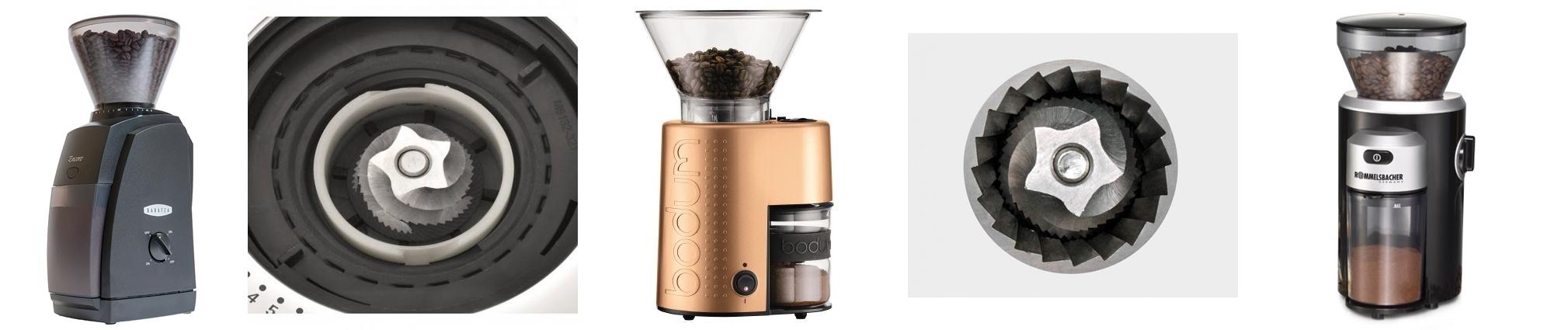 Die Kegelmühle ist eine Form der Kaffeemühle