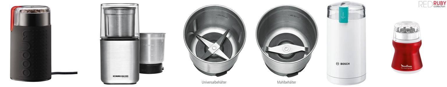 Schlagmühle oder Propellermühle sind Arten von Kaffeemühlen