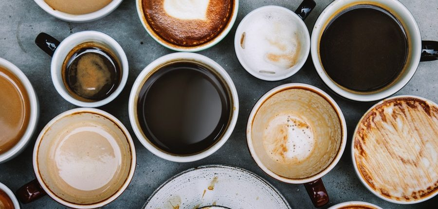 Verschiedene Kaffeespezialitäten vom Espresso über Cold Drip Kaffee und Flat White